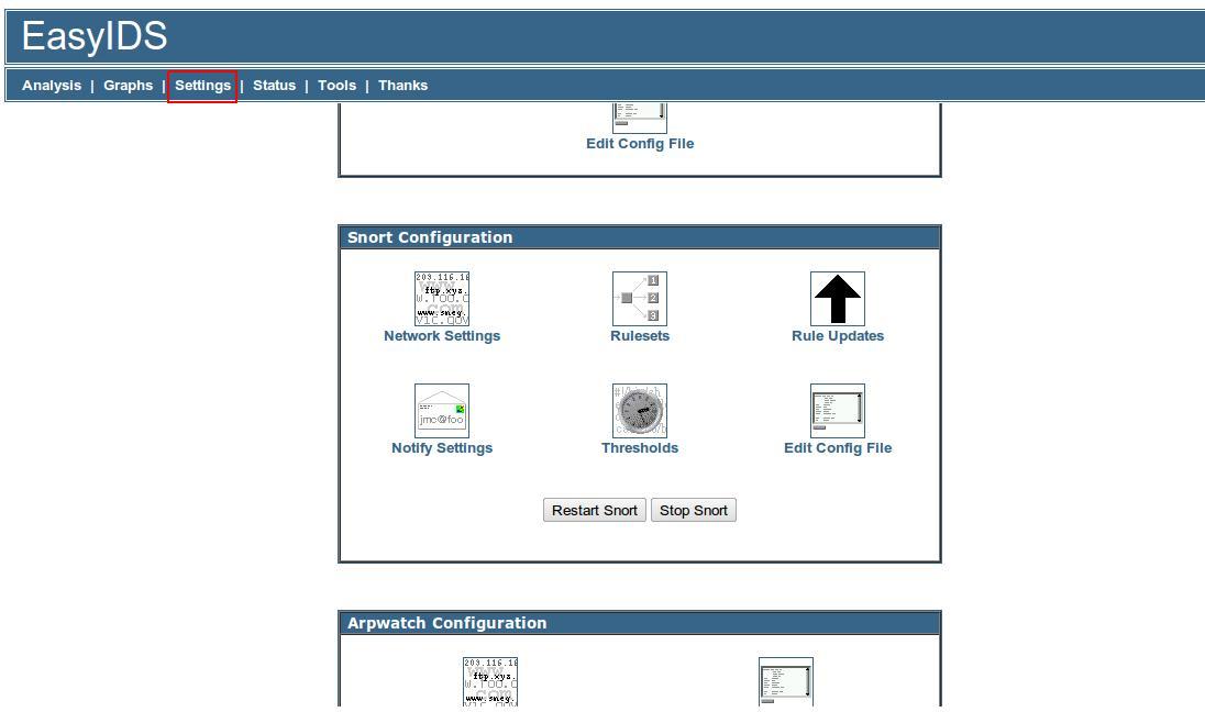 Manual de instalación y configuración de EasyIDS – Snort | Humanlinks